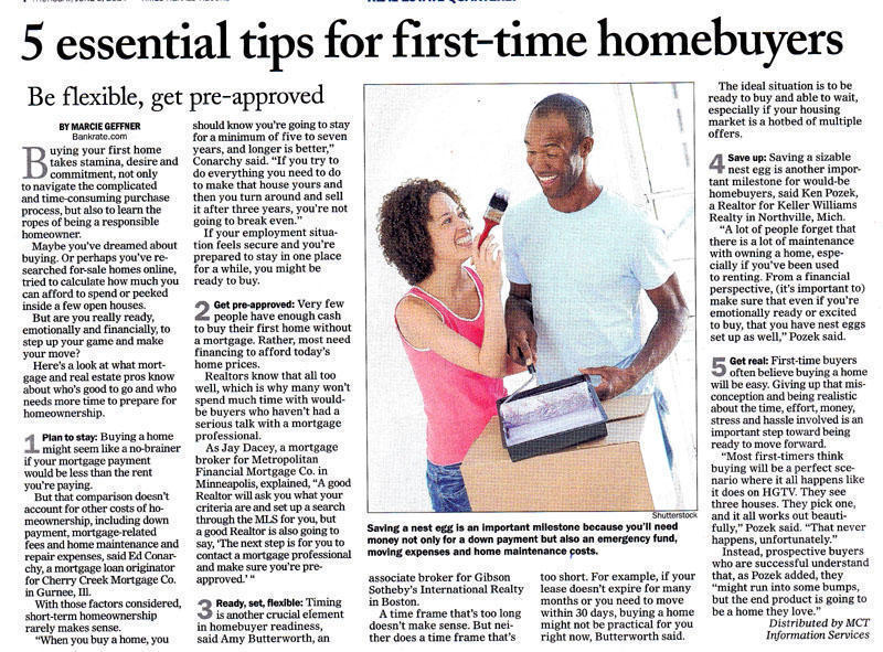 Blog blog archive first time homebuyer tips for First time home builder